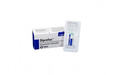 Diprofos Suspensión Inyectable 7 mg Caja Con 1 Ampolla