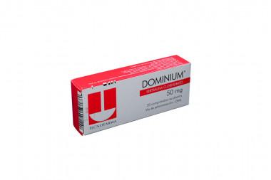 Dominium 50 mg Caja Con 20 Comprimidos Recubiertos