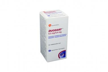 DUODART 0,5 / 0.4 mg Caja Con Frasco Con 30 Cápsulas Duras