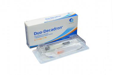 Dúo-Decadron 8 + 2 mg / 1 mL Caja Con 1 Jeringa Prellenada