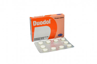 Duodol 37.5 / 325 mg Caja Con 10 Tabletas Recubiertas