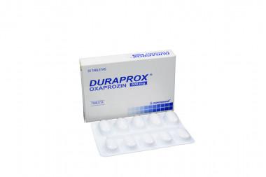 Duraprox 600 mg Caja Con 20 Tabletas