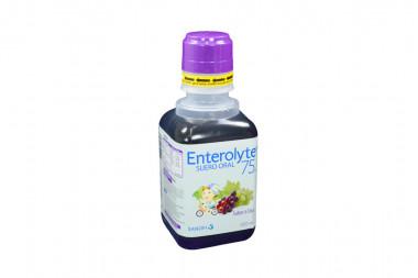 Enterolyte 75 Suero Oral Frasco Con 400 mL - Sabor A Uva