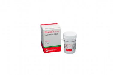 Eltroxin 100 mcg Caja Con Frasco Con 50 Tabletas