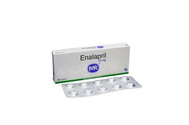 Enalapril 20 mg Caja x 20 Tabletas – Tecnoquímicas
