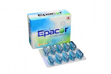 Epacor 465 / 375 mg Caja Con 30 Cápsulas Blandas de Gelatina