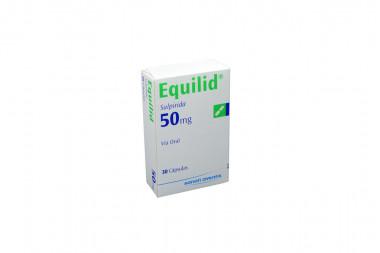 Equilid 50 mg Caja Con 30 Cápsulas