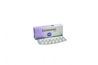 Escitalopram 10 mg Caja Con 28 Tabletas Cubiertas