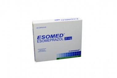 Esomed 20 mg Caja Con 28 Cápsulas
