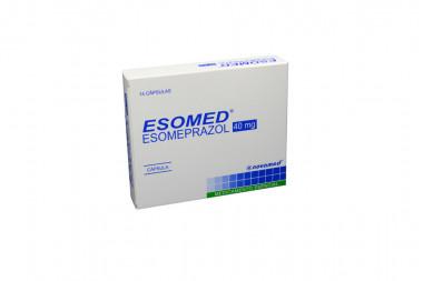 Esomed 40 mg Caja Con 14 Cápsulas