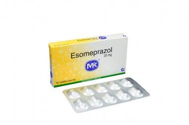 Esomeprazol 20 mg Caja Con 10 Tabletas Cubiertas