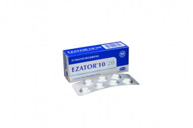 Ezator 10 / 20 mg Caja Con 28 Tabletas Recubiertas