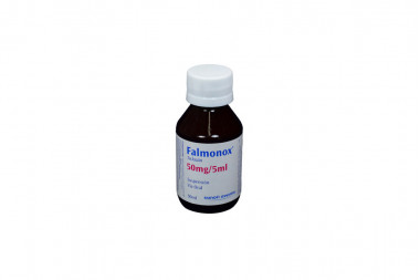Falmonox Suspensión 50 mg / 5 mL Frasco Con 90 mL