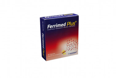 Ferrimed Plus Caja Con 30 Cápsulas