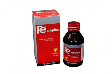 Ferroplus Supensión 3.25 / 5 mg Caja Con Frasco Con 120 mL