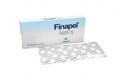 Finapel 1 mg Caja Con 28 Tabletas Recubiertas