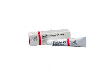 Fucidin Crema 2% Caja Con Tubo Con 15 g