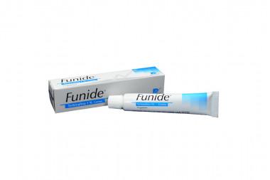 Funide En Crema 1 % Caja Con Tubo Con 15 g