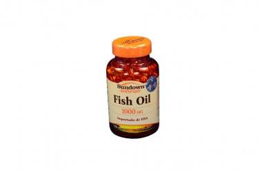 Fish Oil 1000 mg Frasco Con 120 Cápsulas Blandas