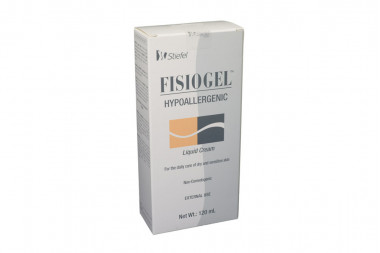 Fisiogel Crema Líquida Caja Con Frasco Con 120 mL