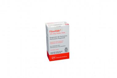 Flixotide 125 mcg Caja Con Inhalador Con 120 Dosis