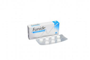 Funide 250 mg Caja Con 14 Tabletas