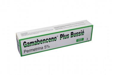 Gamabenceno Plus Crema 5 % Caja Con Tubo Con 60 g