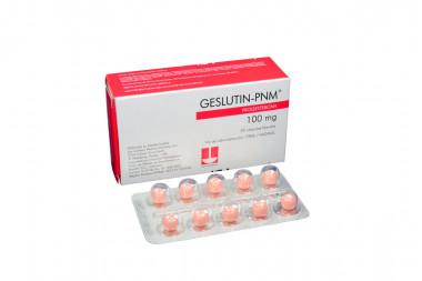 Geslutin- Pnm 100 mg Caja Con 30 Cápsulas Blandas