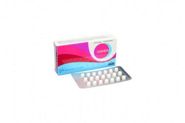 Gianda 2 / 0.3 mg Caja Con 21 Comprimidos Recubiertos