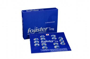 Folister 1 mg Caja Con 28 Cápsulas Blandas