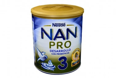 Nan Pro 3 Tarro Con 800 g