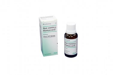 Nux Vomica-Homaccord Gotas Caja Con Frasco Con 30 mL