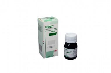 Herrex Gotas 50 mg / mL Caja Con Frasco Con 30 mL