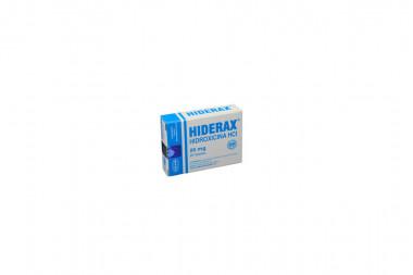 Hiderax 25 mg Caja Con 20 Tabletas