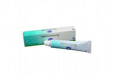 Hidrocortisona En Crema 1% Caja Con Tubo Con 15 g