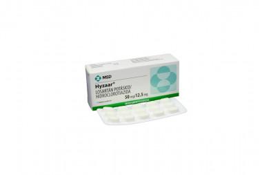 Hyzaar 50 / 12.5 mg Caja Con 15 Tabletas Recubiertas