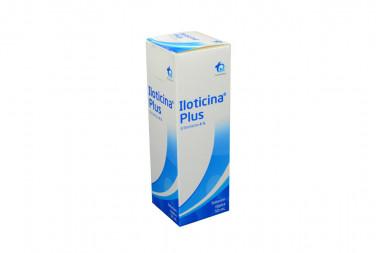 Iloticina Plus Solucion Tópica 4 % Caja Con Frasco Con 50 mL