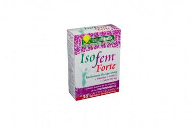 Isofem Forte 150 U.I / 200 mg Caja Con 30 Tabletas Recubiertas