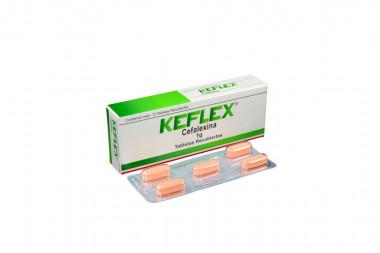 Keflex 1 g Caja Con 10 Tabletas Recubiertas