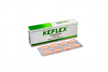 Keflex 500 mg Caja Con 24 Tabletas Recubiertas