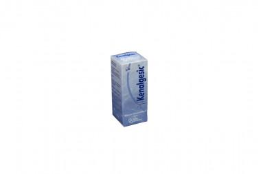 Kenalgesic Solución Oftalmica 0.5% Caja Con Frasco Gotero Con 5 mL