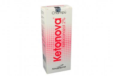 Ketonova En Champú 2% Caja Con Frasco Con 150 mL