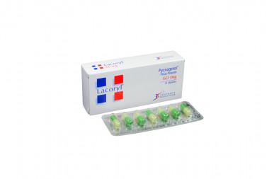 Lacoryl 60 mg Caja Con 14 Cápsulas