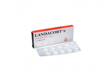 Landacort 6 mg Caja Con 10 Tabletas