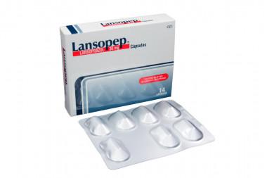 Lansopep 30 mg Caja Con 14 Cápsulas