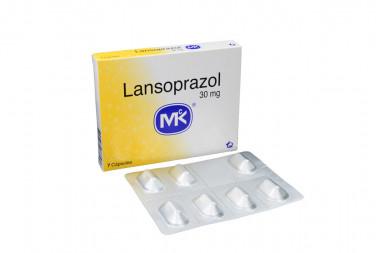 Lansoprazol 30 mg Caja x 7 Cápsulas –Tecnoquímicas