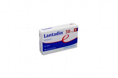 Lantadín 30 mg Caja Con 10 Comprimidos