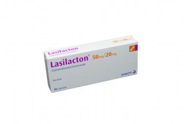 Lasilacton 50 / 20 mg Caja Con 16 Cápsulas