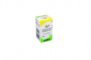 Lastacaft Solución Oftálmica 0.25 % Caja Con Frasco Con 3 mL