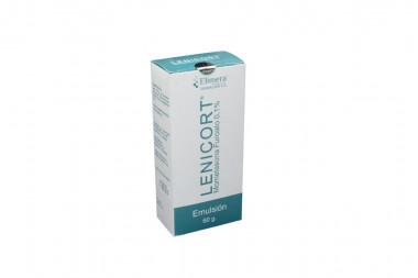 Lenicort Emulsión Caja Con Tubo Con 60 g